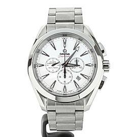 Omega Aqua Terra Chronograph 44mm Stainless Steel 23110445004001 Full Set