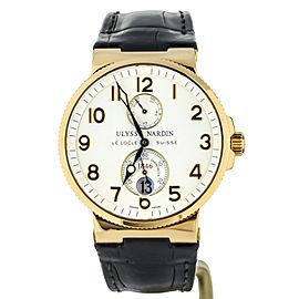 Ulysse Nardin Marine Chronometer Rose Gold 41mm 266-66 Full Set