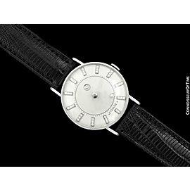 1957 Jaeger-LeCoultre Vacheron & Constantin Mystery Dial, 14K Gold & Diamond