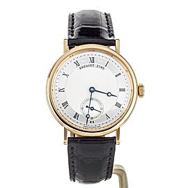 BREGUET CLASSIQUE MANUAL WIND 35MM ROSE GOLD COMPLETE SET REF: 5907BR