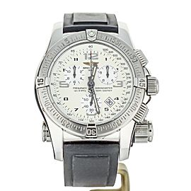 Breitling Emergency Chronograph Quartz 45mm A73321 COMPLETE SET