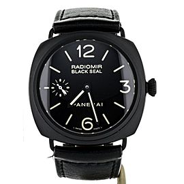 Panerai Black seal radiomir 45mm Ceramic ref: PAM0292 Full Set