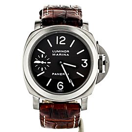 PANERAI 44MM TITANIUM MANUAL WIND REF: PAM00061 COMPLETE SET