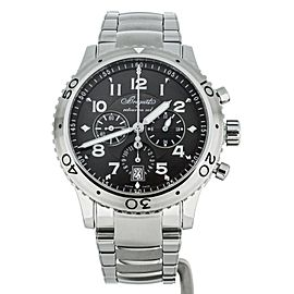 BREGUET TYPE XXI CHRONOGRAPH TITANIUM ON BRACELET 43MM REF 3810TI FULL SET