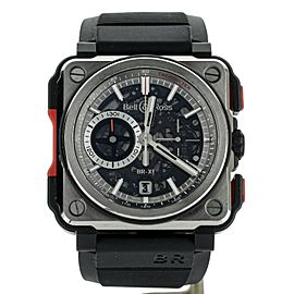 BELL AND ROSS AVATION BR-X1 C BRX1-CE-TI-RED 45MM STEEL AND CERAMIC FULL SET