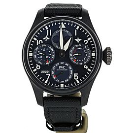 IWC Big Pilot Perpetual Calendar Rodeo Drive 46mm Blue Dial IW503001 Full Set