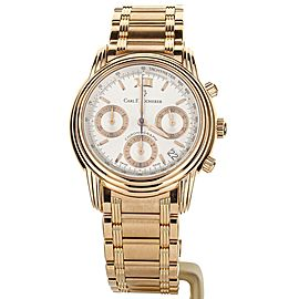 Carl F. Bucherer Archimedes Chronograph rose gold 38mm ref: 10211.03