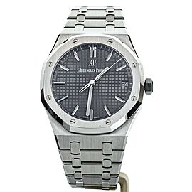 Audemars Piguet Royal Oak Gray Dial 41mm 15500 Complete Set