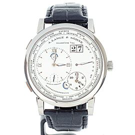 A. Lange & Sohne Lange 1 Timezone White Gold 42mm 116.039 Full Set