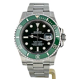 Rolex Submariner Hulk Green Dial Ceramic Bezel 40mm 116610LV