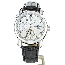 Vacheron Constantin Malte Dual Time Regulator White Gold 39mm Ref: 42005/000G