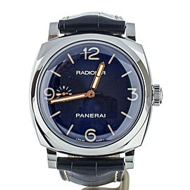 Panerai Radiomir 1940 47mm Blue Dial of 500 S113/500 Ref: PAM 690 Full Set