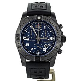 BREITLING CHRONOSPACE NIGHT MISSION TITANIUM 43MM V73330 FULL SET