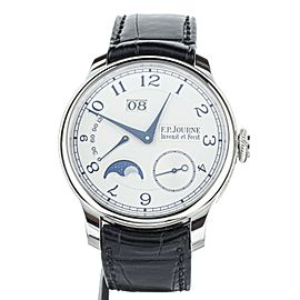F.P. Journe Octa Automatique Lune Platnium 40mm 1300.3 Full Set