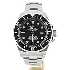 Rolex Seadweller Deepsea Black Dial 44mm 116660 Full Set