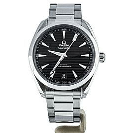 Omega Aqua Terra 150m Black Dial 41mm 22012412101001 Full Set