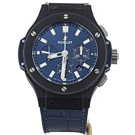 Hublot Big Bang Chronograph Ceramic Blue Dial 44mm 301.CI.7170.LR