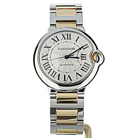 Cartier Ballon Bleu 36mm Stainless Steel Yellow Gold W2BB0012
