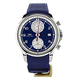 IWC Portuguese Yacht Club Summer Edition Blue Dial 43mm Ref: IW390507 Full Set