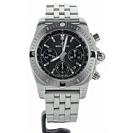Breitling B01 Chronomat 44 Anthracite Dial Stainless Steel AB0115101F1A1