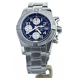 Breitling Avenger II Mariner Blue Dial Stainless Steel A13381 Full Set Unworn