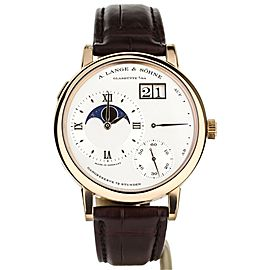 A. Lange & Sohne Grand Lange 1 Moonphase Rose Gold 41mm ref:139.032 Complete Set