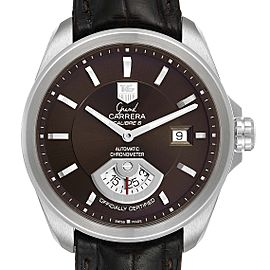 Tag Heuer Carrera Brown Dial Automatic Mens Watch WAV511C