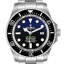 Rolex Seadweller Deepsea 44 Cameron D-Blue Dial Mens Watch 126660 Box Card