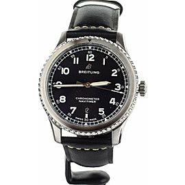Breitling Navitimer 8 Automatic 41 Stainless Steel Black Dial A17315101B1X1