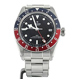 Tudor 2018 LNIB Black Bay GMT Pepsi 41mm Ref:79830RB Complete Set