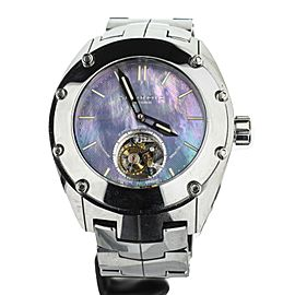 Android-USA Virtuoso Tritium T-100 Tungsten Tourbillon Blue Dial 48mm