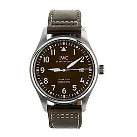 IWC Pilots Watch Mark XVIII St. Exupery Brown Dial 40mm IW327003 Complete Set
