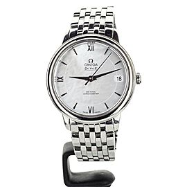 Omega Deville Presige Stainless Steel Mother of Pearl Dial 32mm 42410332005001