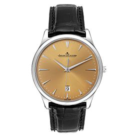 Jaeger Lecoultre Master Ultra Thin Mens Watch 174.8.37.s Q1288430 Unworn