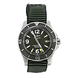 """BREITLING SUPEROCEAN 44 """"OUTERKNOWN"""" NATO FULL SET REF: A17367A11L1W1"""