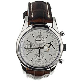 Breitling Transocean Chronograph 1461 Stainless Steel 43mm a19310