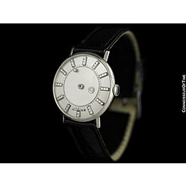 1958 Jaeger-LeCoultre/Vacheron & Constantin Diamond Mystery Dial, 14K White Gold