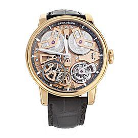 Arnold & Son Chronometer No.36 Tourbillion Rose Gold 46mm 1ETAR.G01A Full Set