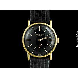 1954 AUDEMARS PIGUET Vintage Mens 18K Gold Dress Watch - Mint with Warranty