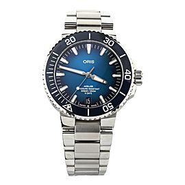 Oris Aquis Date Blue Dial Stainless Steel 43mm 01 400 7763 4135 Full Set