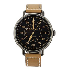 BELL & ROSS HERITAGE WW1-92-SP-02113 45MM AUTOMATIC STAINLESS STEEL FULL SET