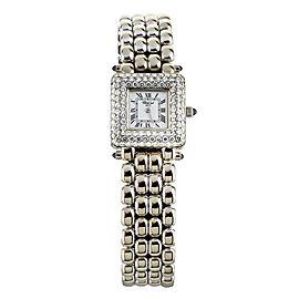 Chopard Classic Diamond White Gold White Dial Quartz 21mm 10/6115-23 Full set