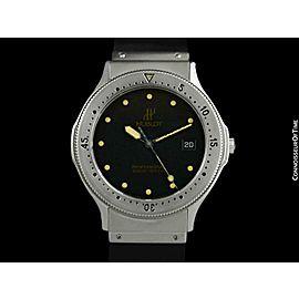 HUBLOT MDM Full Size Mens Automatic Submariner SS Steel Watch - Minty - Warranty