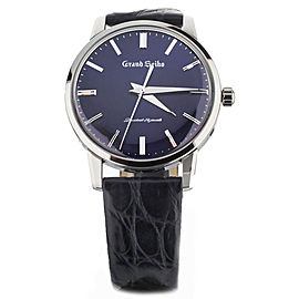 Grand Seiko 60th Anniversary Elegance Collection Blue Dial 38mm SBGW259 Full Set