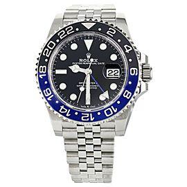 Rolex GMT-Master II Stainless Steel Jubilee Bracelet 40mm 126710BLNR Full Set