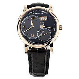 A.Lange & Sohne Grand Lange 1 Rose Gold Manual Wind Black Dial 41mm 115.031