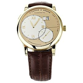 A. Lange & Sohne Grand Lange 1 Yellow Gold with Two Tone Dial 41mm 115.021