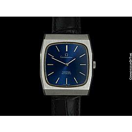 1972 OMEGA Constellation Chronometer Rare Vintage Mens SS Steel - Mint, Warranty