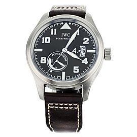 IWC PILOT ST EXUPERY POWER RESERVE BROWN DIAL STAINLESS STEEL 44MM IW320104