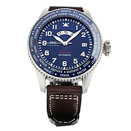 IWC PILOT TIME ZONER LE PETIT PRINCE LIMITED EDITION BLUE 46MM IW395503 FULL SET